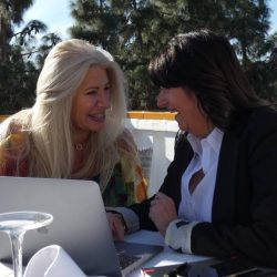 Glenda Smithson & Kathleen Parker